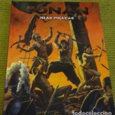 Juegos Antiguos: ISLA PIRATAS - CONAN - ROL. Lote 86486676