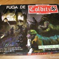 Juegos Antiguos: LA FUGA DE COLDITZ - JUEGO DE MESA APORTO MUCHAS FOTOS DEL JUEGO. Lote 87379760