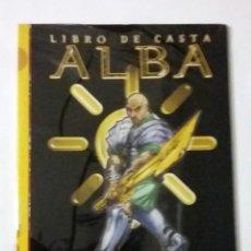 Juegos Antiguos: LIBRO DE CASTA ALBA SUPLEMENTO DE ROL PARA EXALTADO DE LA FACTORIA DE IDEAS. Lote 116291914