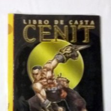 Juegos Antiguos: LIBRO DE CASTA CENIT SUPLEMENTO DE ROL PARA EXALTADO DE LA FACTORIA DE IDEAS. Lote 116291942