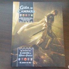 Juegos Antiguos: GUIA DE CAMPAÑA - JUEGO DE TRONOS - CANCION DE HIELO Y FUEGO - ROL. Lote 87771215
