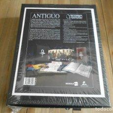 Juegos Antiguos: VAMPIRO EDAD OSCURA 20 ANIVERSARIO - CAJA MECENAZGO ANTIGUO - ROL - NOSOLOROL - PRECINTADA - VEO20. Lote 277243628