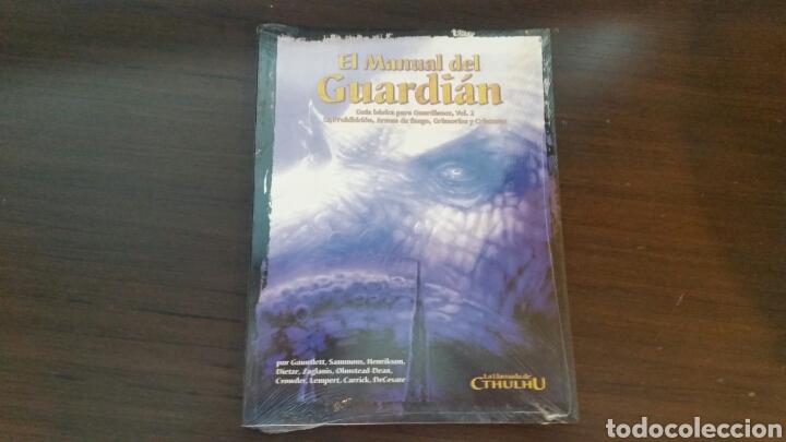 MANUAL DEL GUARDIAN VOL II LA LLAMADA DE CTHULHU - LOVECRAFT - ROL (Juguetes - Rol y Estrategia - Juegos de Rol)
