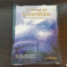 Juegos Antiguos: MANUAL DEL GUARDIAN VOL II LA LLAMADA DE CTHULHU - LOVECRAFT - ROL. Lote 86996780