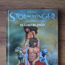 Juegos Antiguos: EL LOBO BLANCO, SUPLEMENTO STORMBRINGER ROL JOC DESCATALOGADO. Lote 89089120