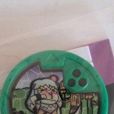 Juegos Antiguos: MEDALLA YO-KAI (YOKAI) WATCH YO-MOTION. SERIE 1. VALIENTE. DORMILEÓN.. Lote 95956068