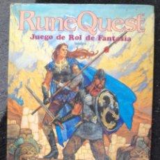 Juegos Antiguos: LIBRO DE ROL: RUNEQUEST. JUEGO DE ROL DE FANTASIA, BASICO - JOC INTERNACIONAL (PRIMI). Lote 90587525