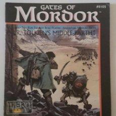 Juegos Antiguos: GATES OF MORDOR MERP ICE SEÑOR ANILLOS JUEGO ROL JOC MIDDLE-EARTH. Lote 90681650