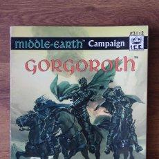 Juegos Antiguos: GORGOROTH SUPLEMENTO JUEGO ROL SEÑOR ANILLOS ICE MERP JOC INTERNACIONAL TIERRA MEDIA 3112 INGLÉS. Lote 90962340