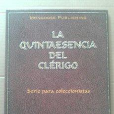 Juegos Antiguos: LA QUINTAESENCIA DEL CLÉRIGO: SERIE PARA COLECCIONISTAS. VOLUMEN II. MONGOOSE PUBLISHING / DEVIR. Lote 126087770