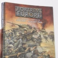 Juegos Antiguos: FORTRESS EUROPE - FLAMES OF WAR. Lote 91123565