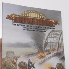 Juegos Antiguos: A BRIDGE TOO FAR - FLAMES OF WAR. Lote 91123950