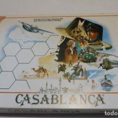 Juegos Antiguos: JUEGO DE MESA II GUERRA MUNDIAL CASABLANCA A ESTRENAR TROQUELADO. Lote 91633925