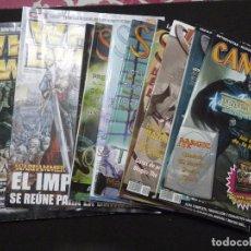 Juegos Antiguos: LOTE DE 10 REVISTAS DE ROL Y CARTAS. Lote 91771470