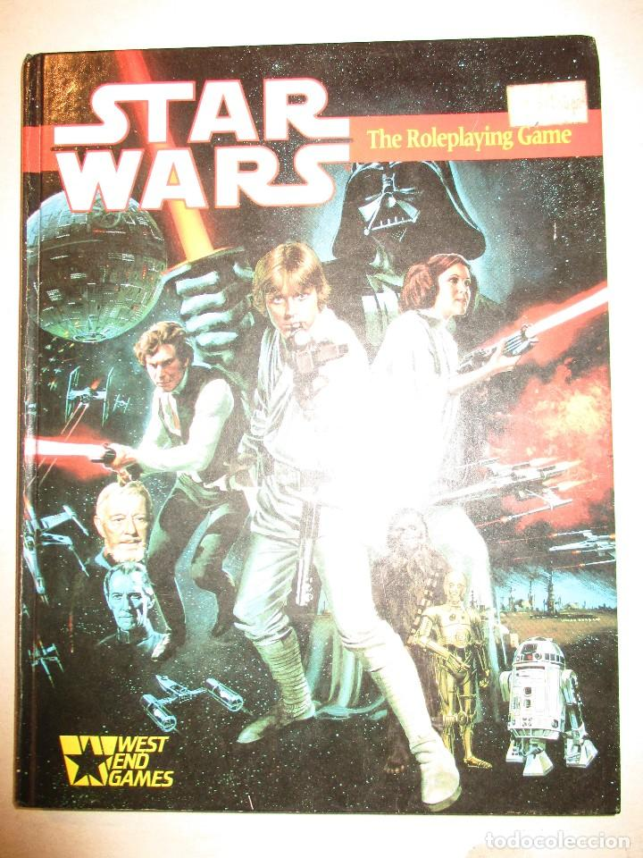 Juegos Antiguos: STAR WARS-LA GUERRA DE LAS GALAXIAS-ROLEPLAYING-WEST END GAMES-INGLES-1ªEDICION 1987 - Foto 1 - 92840195