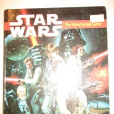 STAR WARS-LA GUERRA DE LAS GALAXIAS-ROLEPLAYING-WEST END GAMES-INGLES-1ªEDICION 1987