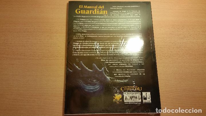 Juegos Antiguos: Manual del Guardian Vol II La Llamada de Cthulhu - Lovecraft - ROL - Foto 2 - 86996780
