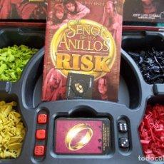 Juegos Antiguos: SEÑOR DE LOS ANILLOS RISK COMPLETO BUEN ESTADO. Lote 93223015