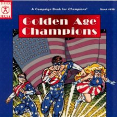 Juegos Antiguos: GOLDEN AGE CHAMPIONS. INGLÉS. Lote 93251785