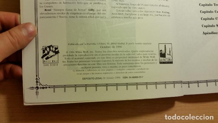 Juegos Antiguos: Guia Manual del Narrador de Vampiro Mascarada - Vampiro Requiem - Mundo de Tinieblas - ROL - Foto 3 - 85942864