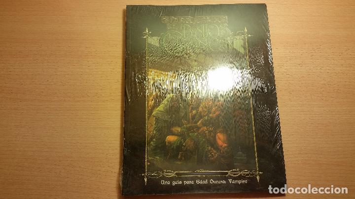 Juegos Antiguos: Guia del Jugador de los Bajos Clanes - Vampiro Edad Oscura - Mundo de Tinieblas - ROL - Foto 2 - 86502244