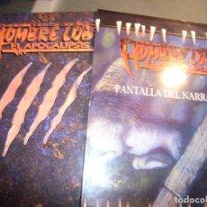 Juegos Antiguos: HOMBRE LOBO-EL APOCALIPSIS 1ª EDICION 1995+ PANTALLA DEL NARRADOR 1ª EDICION 1996. Lote 93843055