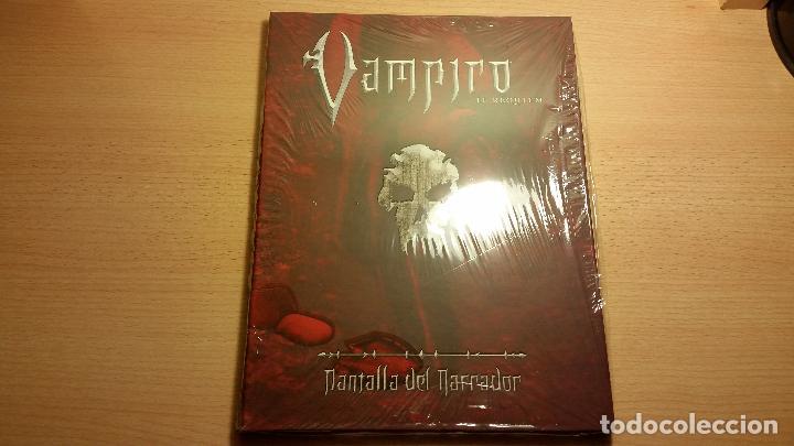 Juegos Antiguos: Pantalla Vampiro Requiem - Nuevo Mundo de Tinieblas - Rol - Foto 2 - 82217628