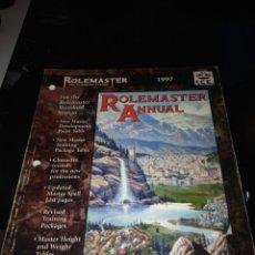 Juegos Antiguos: ROLEMASTER ANNUAL 1997. INGLÉS. Lote 93963210