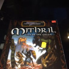 Juegos Antiguos: MITHRIL. CITY OF THE GOLEM. INGLÉS. Lote 94060635