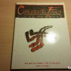 Juegos Antiguos: CAMADA DE FENRIS - HOMBRE LOBO APOCALIPSIS - MUNDO DE TINIEBLAS - LIBRO DE TRIBU - ROL. Lote 94341226