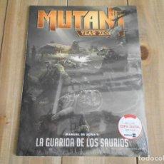 Juegos Antiguos: MUTANT YEAR ZERO - MANUAL DE ZONA 1: LA GUARIDA DE LOS SAURIOS - JUEGO ROL - NOSOLOROL - PRECINTADO. Lote 94606043
