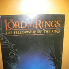 Juegos Antiguos: MANUAL THE LORD OF THE RINGS. THE FELLOWSHIP OF THE RING. . Lote 94627735