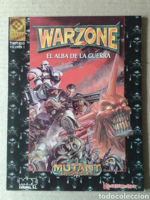 WARZONE: EL ALBA DE LA GUERRA. COMPENDIO VOLUMEN 1. TARGET GAMES / MUTANT CHRONICLES / HEARTBREAKER (Juguetes - Rol y Estrategia - Juegos de Rol)
