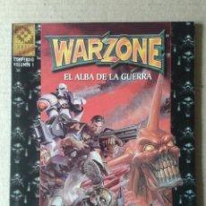 Juegos Antiguos: WARZONE: EL ALBA DE LA GUERRA. COMPENDIO VOLUMEN 1. TARGET GAMES / MUTANT CHRONICLES / HEARTBREAKER. Lote 126087580