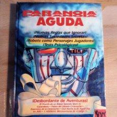 Juegos Antiguos: PARANOIA AGUDA LIBRO ROL. Lote 114341200