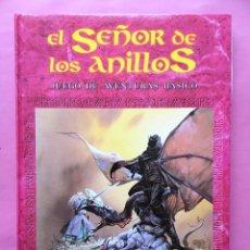 Juegos Antiguos: EL SEÑOR DE LOS ANILLOS JUEGO DE AVENTURAS BASICO JOC INTERNACIONAL MARZO 1992 SIN USAR. Lote 95039075