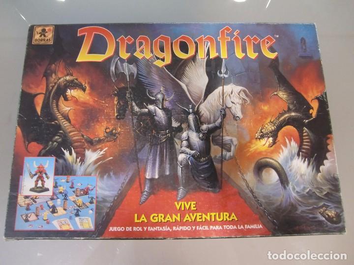 Dragonfire Juego De Mesa Rol Y Fantasia Bor Comprar Juegos De