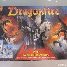 Juegos Antiguos: DRAGONFIRE / JUEGO DE MESA ROL Y FANTASIA / BORRAS. Lote 95118911