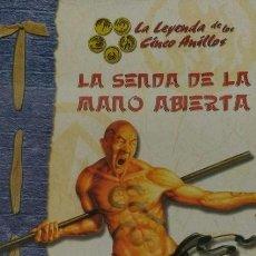 Juegos Antiguos: LEYENDA DE LOS 5 ANILLOS - AVENTURAS ORIENTALES: LA SENDA DE LA MANO ABIERTA. Lote 95487687