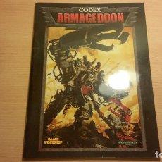 Juegos Antiguos: CODEX ARMAGEDON DE WARHAMMER 40K (WARHAMMER 40.000) ROL - MINIATURAS. Lote 95491151