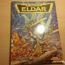 Juegos Antiguos: CODEX ELDARS WARHAMMER 40K (WARHAMMER 40.000) ROL - MINIATURAS. Lote 95491195