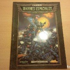Juegos Antiguos: CODEX MARINES ESPACIALES WARHAMMER 40K (WARHAMMER 40.000) ROL - MINIATURAS. Lote 95491367