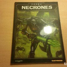 Juegos Antiguos: CODEX NECRONES WARHAMMER 40K (WARHAMMER 40.000) ROL - MINIATURAS. Lote 95491399