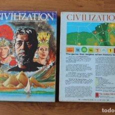 Juegos Antiguos: CIVILIZATION AVALON HILL JUEGO ESTRATEGIA MESA 1982 VINTAGE INGLÉS. Lote 95226131
