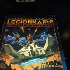 Juegos Antiguos: RENEGADE LEGION. LEGIONNAIRE. THE ROLE PLAYING GAME. Lote 95631991