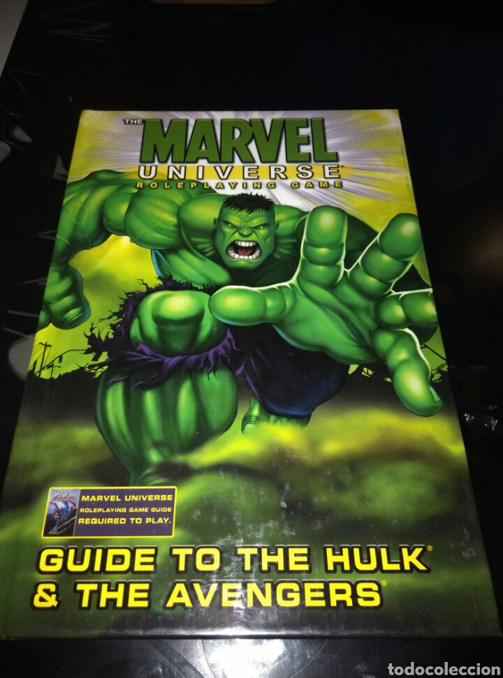 Marvel universe roleplaying game  Guide to the Hulk & the Avengers