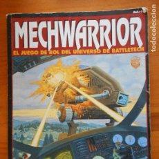 Juegos Antiguos: MECHWARRIOR - JUEGO DE ROL DE BATTLETECH - SEGUNDA VERSION - MECH WARRIOR - LEER DESCRIPCION (J1). Lote 95670551