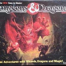 Juegos Antiguos: DUNGEONS & DRAGONS, EASY TO MASTER BY TSR (EDICIÓN EN INGLÉS). Lote 95743787