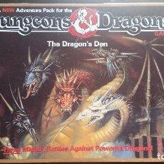 Juegos Antiguos: DUNGEONS & DRAGONS, THE DRAGON'S DEN BY TSR (EDICIÓN EN INGLÉS, AMPLIACIÓN). Lote 95748147