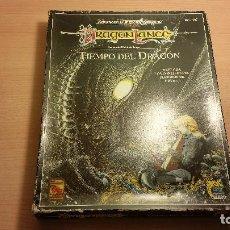 Juegos Antiguos: EL TIEMPO DEL DRAGON - TIME OF THE DRAGON - ADVANCED DUNGEONS & DRAGONS - ROL. Lote 95813643